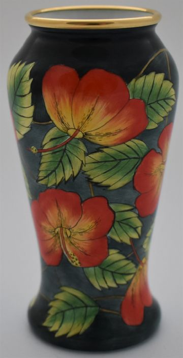 Moorcroft Pottery St Lucia Vase Limited Edition